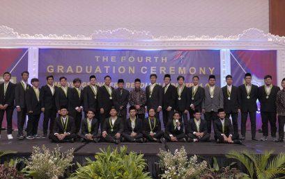 Wisuda Milenial SMA IHBS Angkatan IV