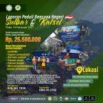 Laporan Peduli Bencana Sulawesi Barat Dan Kalimantan Selatan