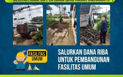 Proses Pembangunan Jalan Umum PTA Imam Ibnu Hajar Indramayu
