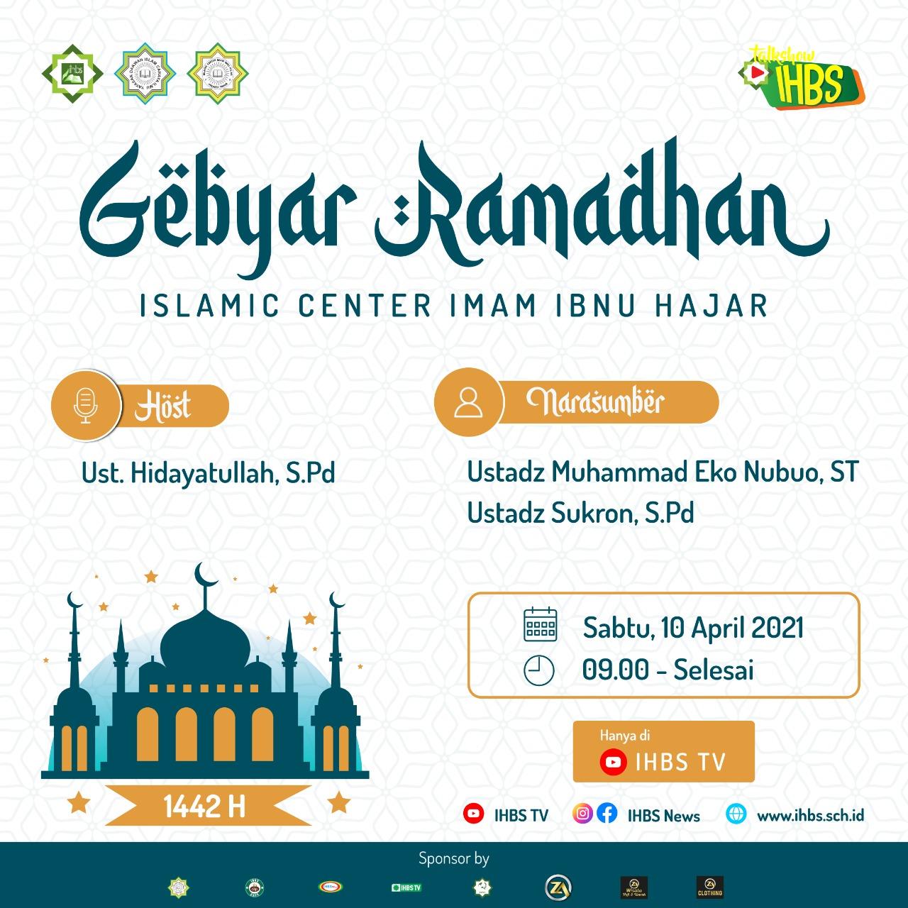 Talk Show Gebyar Ramadhan