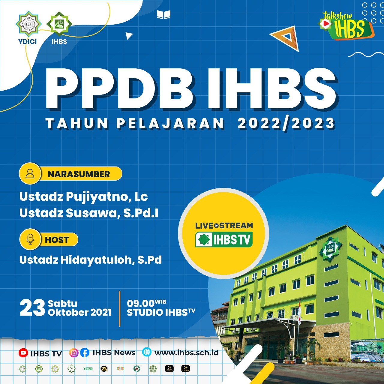 Talkshow PPDB IHBS