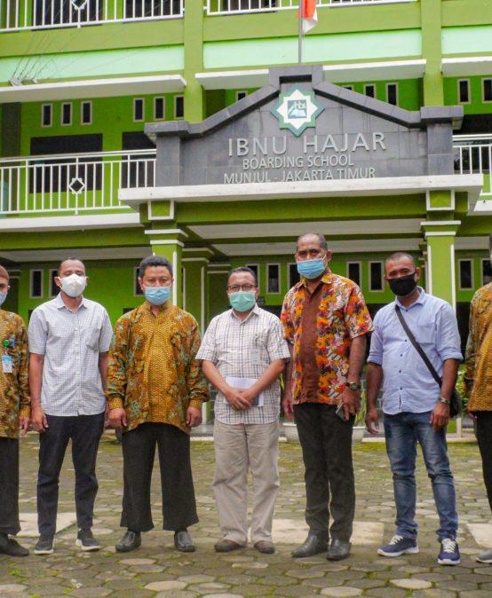Kunjungan Sekretaris Dinas DIKBUD & KABID Pembina SMA  Provinsi Maluku