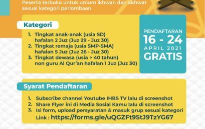 MHQ (Musabaqoh Hifdzil Qur'an)